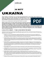 Pask Festum Min Far Och Mitt Ukraina