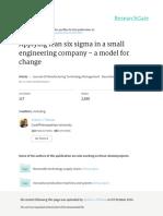 Lean Six Sigma Small Company