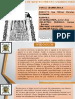 Sistemas de Sostenimiento Usando Madera