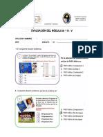 Evaluación Módulo III - IV - V