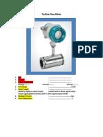 How to Order-Turbine Flow Meter