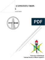 2018 pitt nsbe constitution