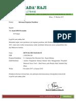 Surat Info Penelitian