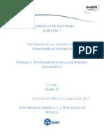 Unidad 1 Fundamentos de Ingenieria Economica