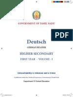 XI Std German Language Combined 28.06.2018