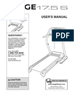 Treadmill Owners Manual