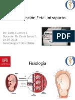 Monitorización Fetal Intraparto.pptx