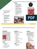 Leaflet Tonsilitis New