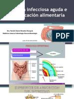Diarrea Infecciosa Aguda e Intoxicación Alimentaria 090718