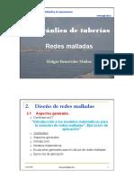 Hidraúlica de tuberías Redes malladas.pdf