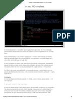 ronoblog_ Transformando o VIM em uma IDE completa.pdf