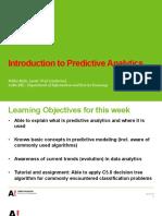 PredictiveAnalytics Part1 2016 Handout