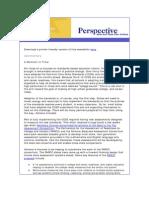 September Perspective Newsletter