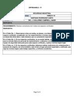 ASIGNACION DE SEGURIDAD INDUSTRIAL