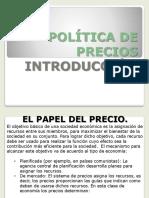 Política de Precios Capitulo 1