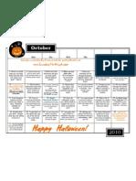 Calendar October 2010