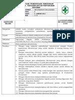 8.1.2 EP 1 Permintaan Pemeriksaan Penerimaan Spesimen Pengambilan Ddan Spesimen Fix