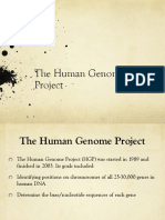 Human Genome Project (1)