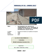 Informe N° 02 - A.S. Nº 017-2016