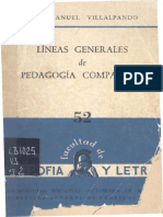 Pedagogia Comparada 1961