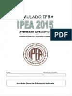 Simulado IFBA - Caderno de Questões.pdf