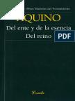 AQUINO TOMAS Del ente y de la esencia del reino.pdf