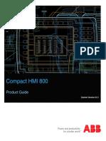 3BSE041037-601 - En Compact HMI 6.0.1 Product Guide