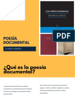 Poesía documental
