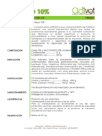 Ficha Tecnica Colifeed 10%