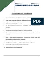 PP-CHS-MT.01 10 Reglas Básicas de Seguridad