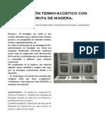Investigacion - Hormigon Con Viruta de Madera