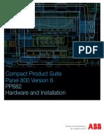 3BSE069462-600 - En Panel 800 Version 6 PP882 Hardware and Installation