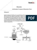Gasification and Pyrolysis Treatment of Hazardous Waste