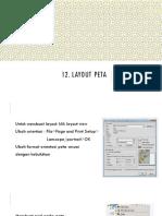12 Layout Peta