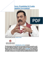 Democratic Decay  Examining Sri Lanka under the Rajapaksa Government.docx