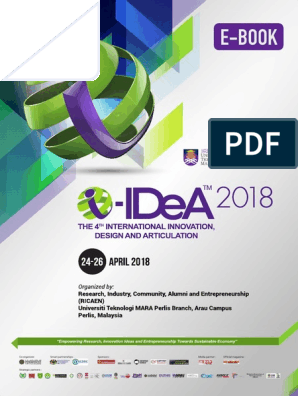 E Book Extended Abstract I-iDeA 2018 | Plastic | Polyvinyl