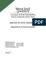 Ma Handbook