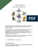 Curso de Didáctica Evaluacion y Curriculo