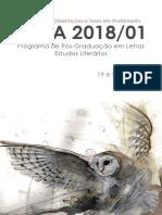 Caderno de Resumos SEDA 2018.1