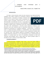 Desenvolvimento Endogeno e Potencial Endogeno.