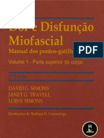 Travell - Dor e Disfuncao Miofascial Vol 1 Parte Superior Do Corpo