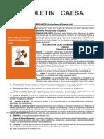 Boletin Caesa Reglamento p.c. Mayo 2014