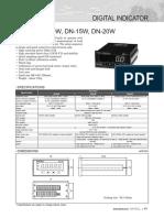 Dacell Dn-10w, Dn-15w, Dn-20w Spec