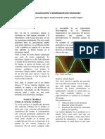 Uso Del Osciloscopio y Generador de Funciones 1