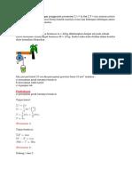 Soal Pembahasan Fisika materi Dinamika Rotasi