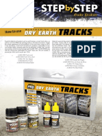 Stepbystep Dry Earth Tracks