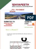 Pavement Design