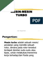 Mesin Mesin Turbo