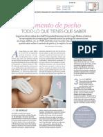 """Dr. de la Fuente en revista Love sobre """"Aumento de pecho"""""""