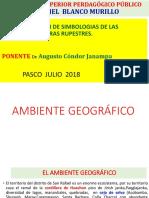 Interpretación Arte Rupestre Pasco 2018 Dr. Augusto Cóndor Janampa